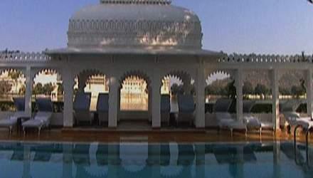 Taj Lake Palace - уникальный отель в королевском дворце