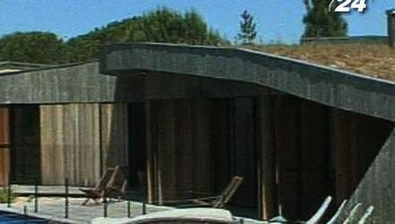 Дом в дюнах - единое целое архитектуры и ландшафта
