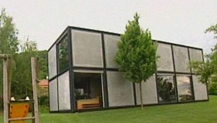 Унікальний будинок, складений із кубів