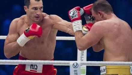 Пять последних побед Владимира Кличко