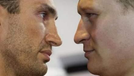Опрос: Кличко-Поветкин, кто победит?