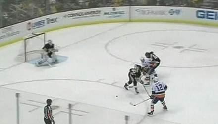 Обзор матчей NHL Сидни Кросби набрал 18-е очко в сезоне