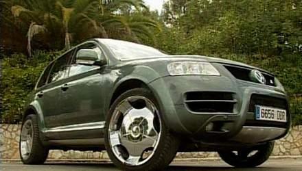 Тюнинг Volkswagen Touareg в стиле DUB