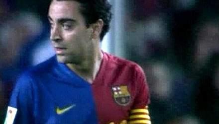 Испанский футболист Хави Эрнандес празднует День рождения