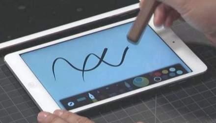 Adobe розробила олівець Ink та лінійку Slide для креслення на планшетах iPad