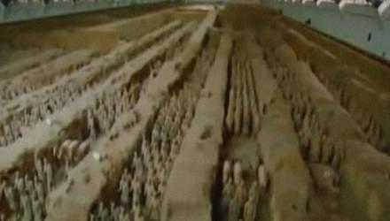 11 июля в городе Сиань были найдены захоронения глиняной армии