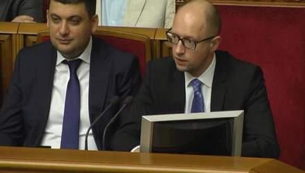 Найактуальніші цитати 31 липня: Яценюк про дефолт, Порошенко про відповідальність депутатів