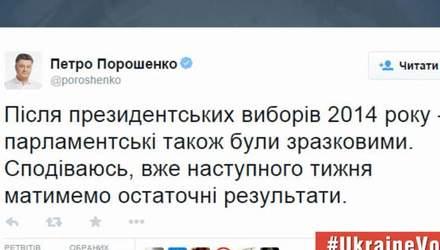 Реакция пользователей соцсетей на выборы в ВР (Видео)