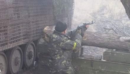 """Зона АТО. Під обстрілом """"Градів"""". Кримське"""