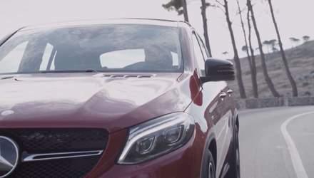 Mercedes повністю розсекретив новий кросовер GLE Coupe