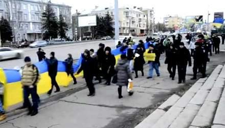 """Хроніка 11 січня 2014. Сутички з """"беркутівцями"""",  у Луганську зібрали Євромайдан"""