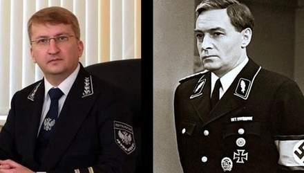"""Російським поштарям пошили """"нацистську"""" форму"""
