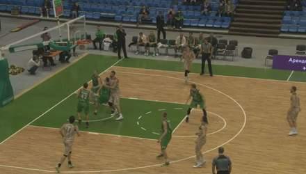 """Баскетбол. """"Будівельник"""" пробився до фіналу чотирьох кубка України"""