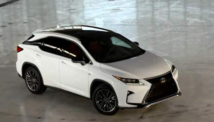 Автотехнологии. Lexus представил новый кроссовер четвертого поколения