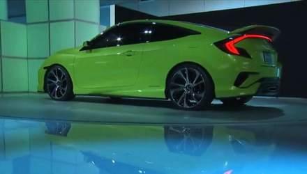 Автотехнології. Honda представила концепт моделі Civic 10 покоління