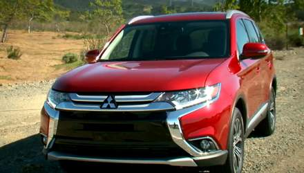 Автотехнології. Продажі оновленого Mitsubishi Outlander стартують у вересні