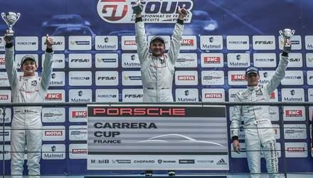 Украинский гонщик одержал историческую победу