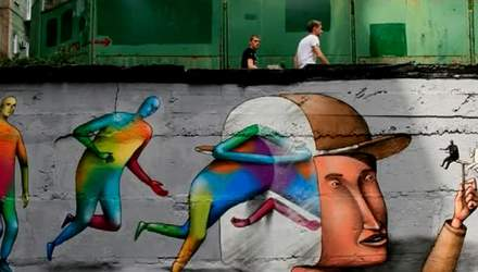 Украинский стрит-арт дуэт своими невероятными работами вошел в ТОП-25 мира
