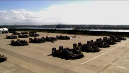 """Корабль-амфибия """"Тайфун"""" — последнее слово в военной технике"""