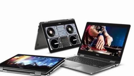 Компанія Dell презентувала перший у світі  ноутбук-планшет