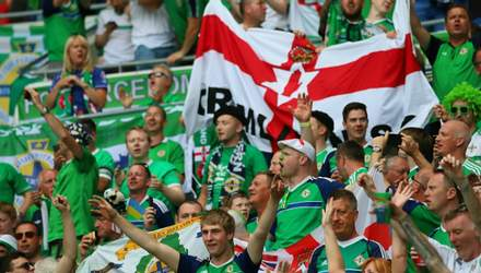 На матчі з Україною фанат Північної Ірландії помер просто на стадіоні
