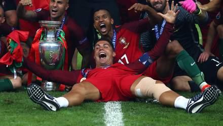 Как победителей Евро-2016 встретили на родине