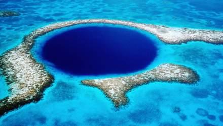"""""""Блакитна діра"""" – мальовнича печера у серці Єгипту"""
