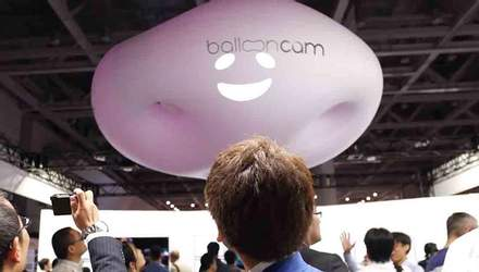Panasonic представил необычный дрон в виде облака
