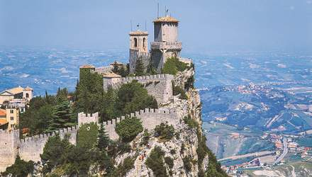 Сан Марино – найстаріша країна, яку можна оглянути за два дні