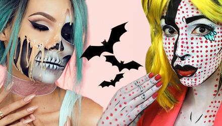 Грим на Хэллоуин, который стоит повторить: видео
