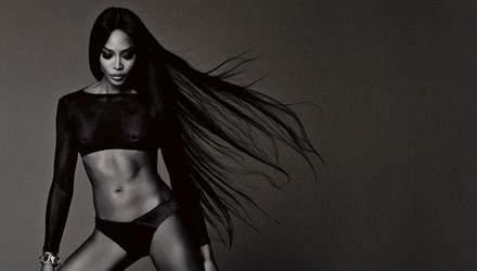 Модель Наоми Кэмпбелл поразила откровенной фотосессией для мужского глянца (18)