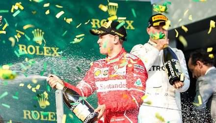 Ferrari впервые победила в Formula-1 за последние полтора года