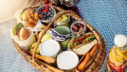 Меню на пикник: простые и вкусные рецепты