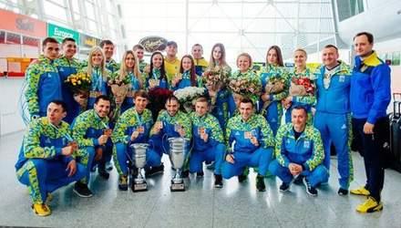 Українська збірна тріумфально виступила на чемпіонаті Європи з карате