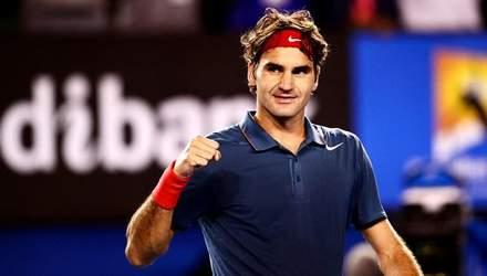 Роджер Федерер – один із найтитулованіших тенісистів за всю історію цього виду спорту