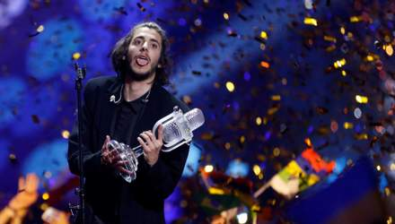 Сальвадор Собрал резко высказался во время награждения на Евровидении