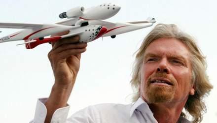 Річард Бренсон – ексцентричний мільярдер, ентузіаст космічного туризму