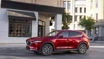 Обновленная Mazda СХ-5 приятно удивила дизайном и технологиями