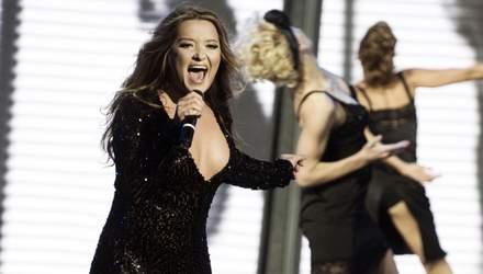 Наталя Могилевська під час концерту в Харкові оголила груди: відео (18+)