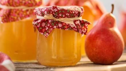 Рецепт ароматного варення з груш, яке зігріє вас взимку