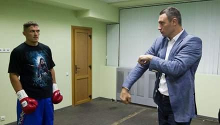 Кличко відреагував на яскраву перемогу Усика над Хуком
