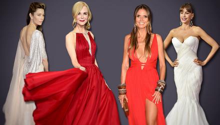 Еммі-2017: стильні та вишукані образи на червоній доріжці