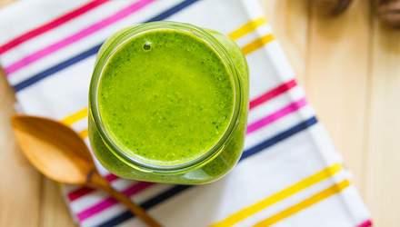Три зелені смузі, які будуть ідеальним сніданком