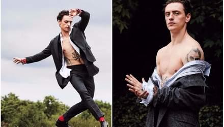 Откровенно и ярко: интервью украинского танцора Полунина для фешен-глянца WMagazine