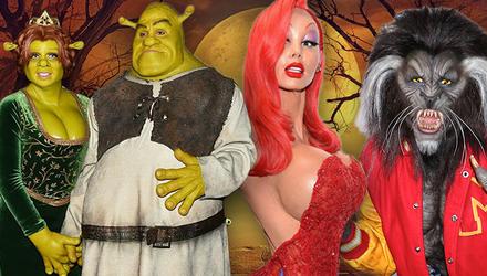 Королева Хэллоуина: потрясающие перевоплощения Хайди Клум
