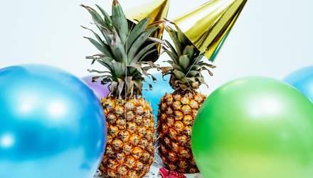 Как украсить ананас вместо традиционной елки на Новый год: курьезные фото
