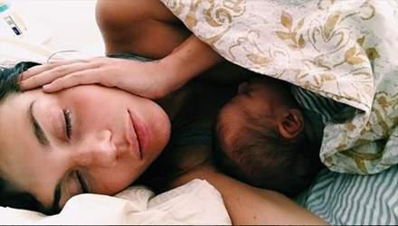 Анна Седокова впервые показала лицо сына: фото