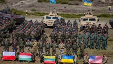 Техника войны. В Украине пройдут многонациональные учения. Обновленный украинский бронеавтомобиль