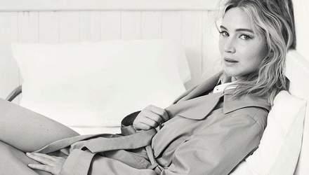 Дженнифер Лоуренс снялась для кампейна весенней коллекции Dior