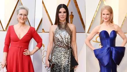 Оскар 2018: найрозкішніші сукні знаменитостей